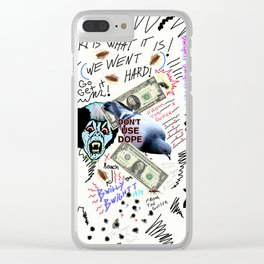 Art From The Gutter Clear iPhone Case