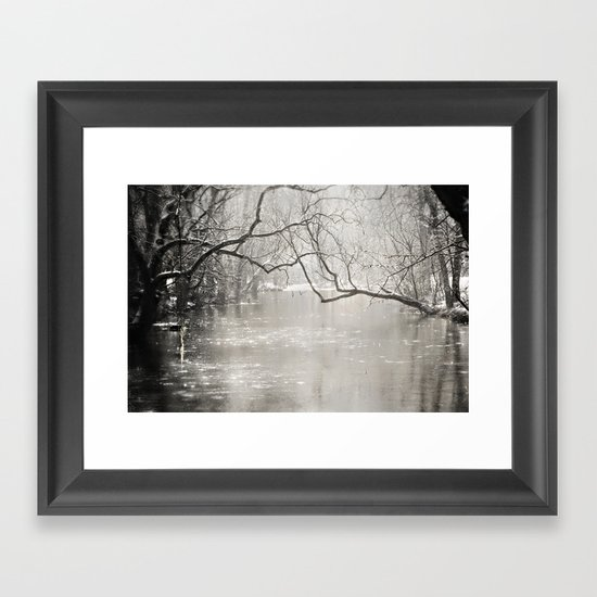 French Creek Framed Art Print