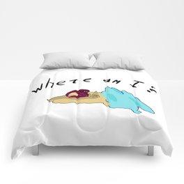 Lost traveler Comforters