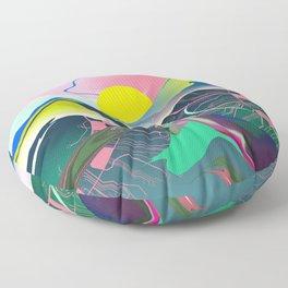 The landscape of my mind II Floor Pillow