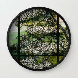 Louis Comfort Tiffany - Decorative stained glass 2. Wall Clock