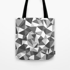 Abstraction Black and White Tote Bag