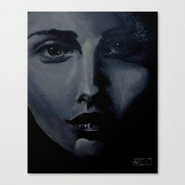 The Portrait  Canvas Print