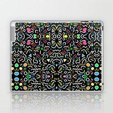 retro confetti Laptop & iPad Skin