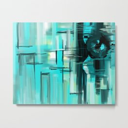 Searching (Abstract) Metal Print