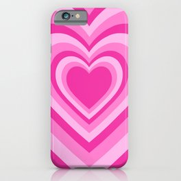 Beating Heart Pink iPhone Case