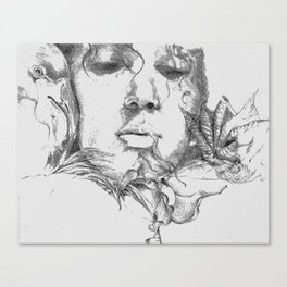 Gone Wild Canvas Print