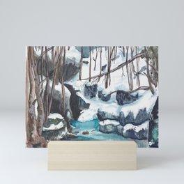 Silent Snow Mini Art Print
