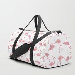Flock Of Flamingos Duffle Bag