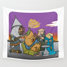 The Extraction of the Stone of Madness Wall Tapestry