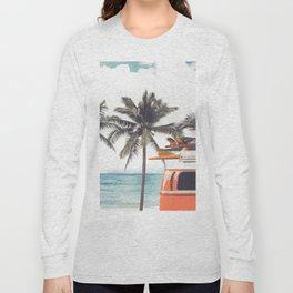 Red surf van Long Sleeve T-shirt