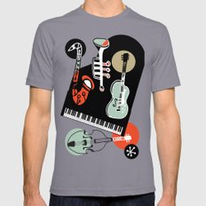 Jazz Combo Mens Fitted Tee X-LARGE Slate