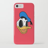donald duck iPhone & iPod Cases featuring Donald Duck the Creep by Daniel Hannih