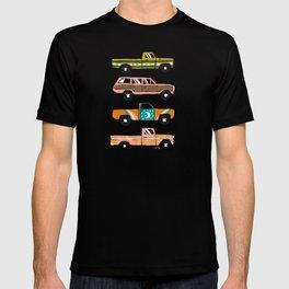 Retro Roads – Charcoal T-shirt
