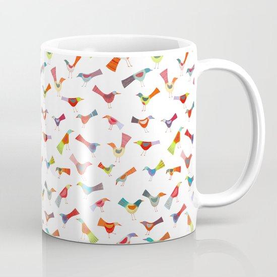Birds doing bird things Mug