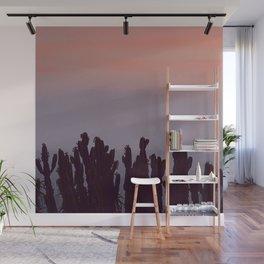 Twilight Cacti Wall Mural