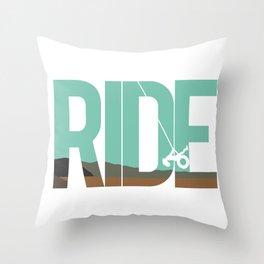 Ride LDR Throw Pillow