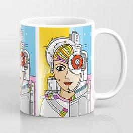 Mujer Robot Coffee Mug