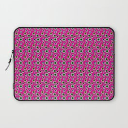 I only Have Eyes for You (on Manic Magenta background)  Laptop Sleeve