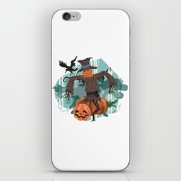 Scary Scarecrow iPhone Skin