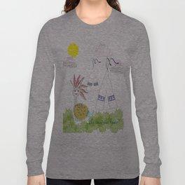 Indian Snail Long Sleeve T-shirt