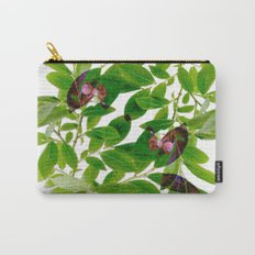 Blueberry Branch in Spring Carry-All Pouch