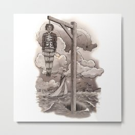Captain Kidd Metal Print