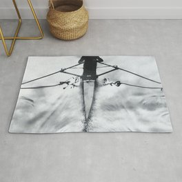 Rowing on a River of Clouds Rug