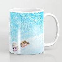 olaf Mugs featuring FROZEN OLAF  by BESTIPHONE5CASESHOP