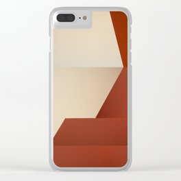 Abstract Architecture No. 1 Clear iPhone Case