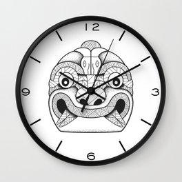 Cabeza Clava Chavin Wall Clock