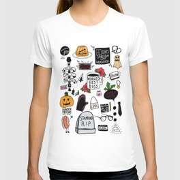 The Office doodles T-shirt