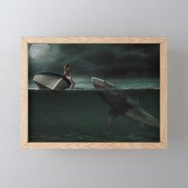 Unusual Friend Framed Mini Art Print