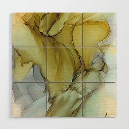 Golden Wood Wall Art