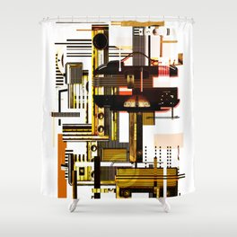 All of the noise Shower Curtain