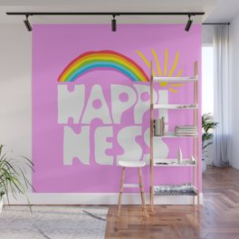 Happiness Wall Mural