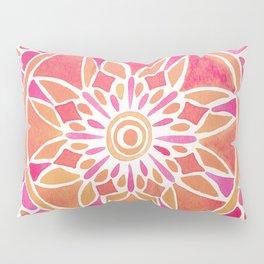 Mandala – Pink Ombré Pillow Sham