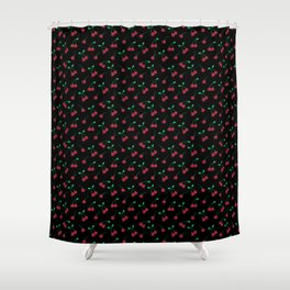 C is for Cherry #ABCFruits&Veggies Shower Curtain