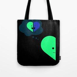 Half Heart - Memories Tote Bag