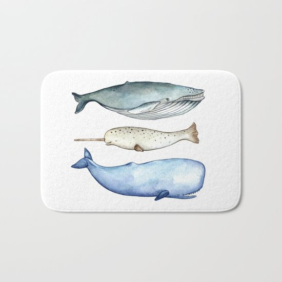S'whale Bath Mat