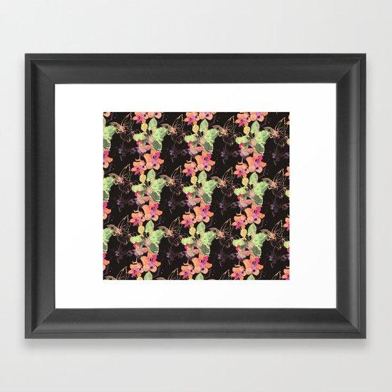 Tropicalé Framed Art Print