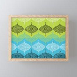 Domed decorations Framed Mini Art Print