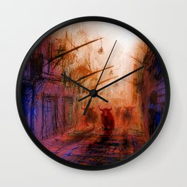 San Fermin Wall Clock