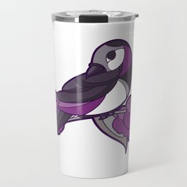 Pride Birds - Asexual, Demisexual, Grey-Asexual Travel Mug
