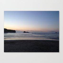 A Cornwall Sunset  Canvas Print