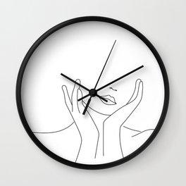 She's a work in progress Wall Clock