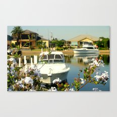 Backyard Bliss - Paynesville - Australia Canvas Print
