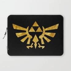 Zelda Golden Hylian Crest Laptop Sleeve