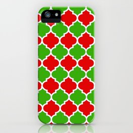 Christmas Domes - Red and Green Domes perfect for Christmas Home Decor iPhone Case