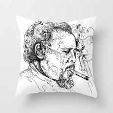 Mingus Throw Pillow